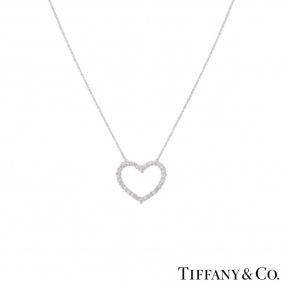 Tiffany & Co. Diamond Heart Pendant